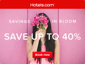 Savings In Bloom - Hotels.com