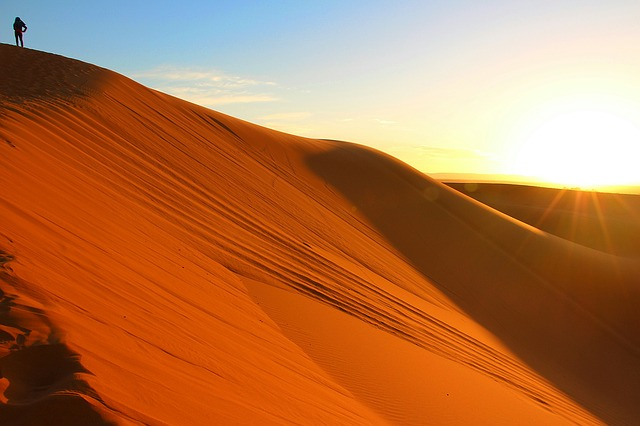 Sun and dunes
