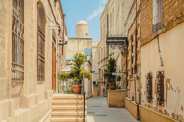 Historical Old Town Narrow Street